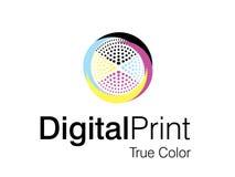 Illustrations 2010-0204. Vector illustration of logo design Stock Photo