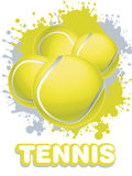 Illustrations 2010-0317. Tennis Sport Concept Background s Stock Photo