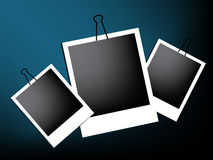 Illustrations 2010-0320. Vector illustration of Old Photo Frames Royalty Free Stock Image