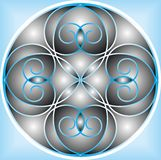 Illustrations Abstract Ornament Geometry Style Stock Photo