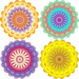 Illustrations Ornament Abstract Geometry Style Stock Images