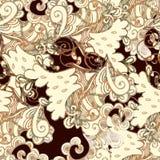 Illustrations avec des fleurs d'abrégé sur aquarelle Images stock