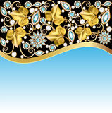 Illustrations background frame Stock Image