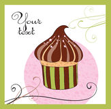 Illustrations of the cake stock images