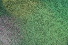 Illustrations of CGI composition, messy strings, virtual backdrop for graphic design or wallpapers. 3D render. Background abstract, messy strings virtual royalty free stock photo