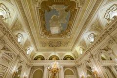 Illustrations, décor et architecture intérieurs photo libre de droits