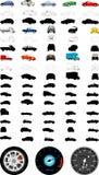 Illustrations d'automobile Images stock
