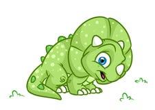Illustrations de bande dessinée de Triceratops de dinosaure Photos stock