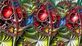 Illustrations de fractale image stock