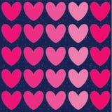 Illustrations de jour de valentines et éléments de typographie Images stock