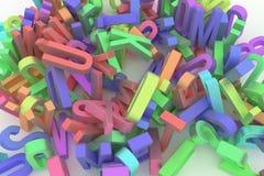 Illustrations de la typographie de cgi, lettre d'ABC, alphabet pour le gra illustration stock