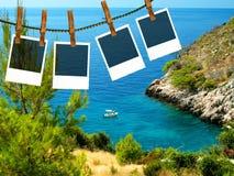 Illustrations de vacances images stock