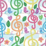 Music note watercolor vertical bird line seamless pattern. This illustrations is design and drawing music note watercolor vertical bird with line horizontal vector illustration