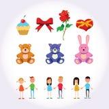 Illustrations et art de jour de valentines Photos libres de droits