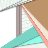 Illustrations geometric design Royalty Free Stock Images