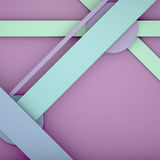 Illustrations geometric design Royalty Free Stock Photo