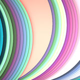 Illustrations geometric design Stock Photography