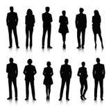 Illustrations-Geschäftsleute des Vektor-UI Konzept- Stockbild