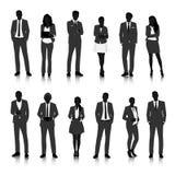 Illustrations-Geschäftsleute des Vektor-UI Konzept- Lizenzfreie Stockbilder