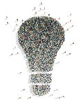 Illustrations of lamp Stock Photos