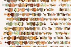 Illustrations of money packs or bags. Wallpaper, effect, cover & banking. stock illustration