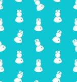 Illustrations-nahtloses Muster mit Ikonen Arztes Lizenzfreies Stockbild