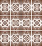 Illustrations Ornament Abstract Geometry Style Royalty Free Stock Photography