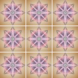 Illustrations Ornament Abstract Geometry Style Royalty Free Stock Images