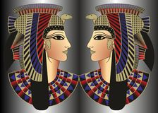 Illustrations Ornament Egyptian Style Stock Images