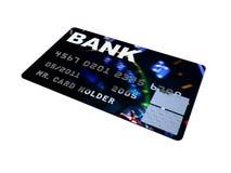 Illustrations par la carte de crédit de plan rapproché de platine Photographie stock libre de droits