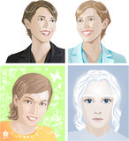 Illustrations_people1 Royalty Free Stock Photo