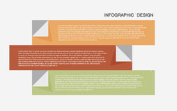 Illustrations plates d'infographics d'affaires Photographie stock