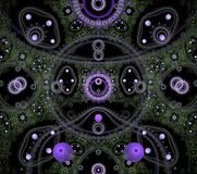 Illustrations  psychedelic fractal futuristic geometric colorful stock photo