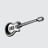 Illustrations-Vektor der Gitarre Lizenzfreies Stockfoto