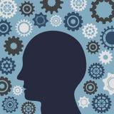Illustrations-Vektor-Grafik-Kreativität und Ideen Lizenzfreies Stockbild