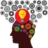 Illustrations-Vektor-Grafik-Kreativität und Ideen Stockfoto