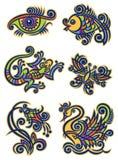 Illustrations1 décoratif Image stock