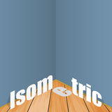 Illustrationsbeispiel der isometrischen flachen Art Lizenzfreies Stockbild