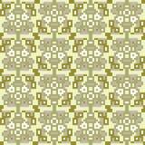 Illustrationsmusterhintergrund-Gelbgrau Lizenzfreies Stockbild