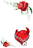 illustrationvalentin Royaltyfri Bild
