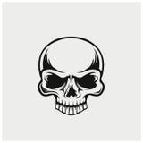 Illustrationvektor av skallen Royaltyfri Bild