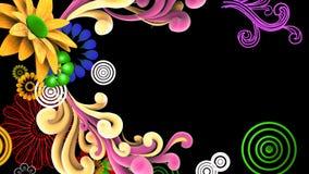 illustrationvektor för blomma 3d Arkivfoton