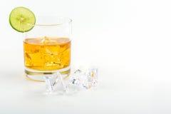 illustrationwhiskey för is 3d Royaltyfria Foton