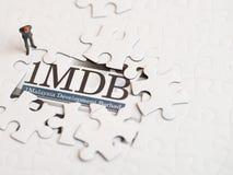 Illustrativ ledare av begreppet för skandal 1MDB royaltyfri foto