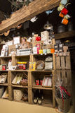 Illustrativ redaktörs- bild Matvaruaffär shoppar i Normandie, Frankrike Arkivbilder