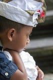 Illustrative editorial image. Unidentified sad little boy Royalty Free Stock Images