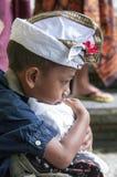Illustrative editorial image. Unidentified sad little boy Royalty Free Stock Photo