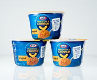 Illustrative editorial photo of Kraft Mac and Cheese Royalty Free Stock Photos