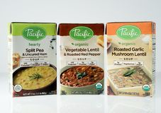 Illustrative editorial photo of Pacific brand soup Royalty Free Stock Photos