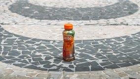 Illustrative editorial of a popular Brazilian drink called matt. Rio de Janeiro, Brazil - January 2nd, 2018: Illustrative editorial of a typical Brazilian Royalty Free Stock Image